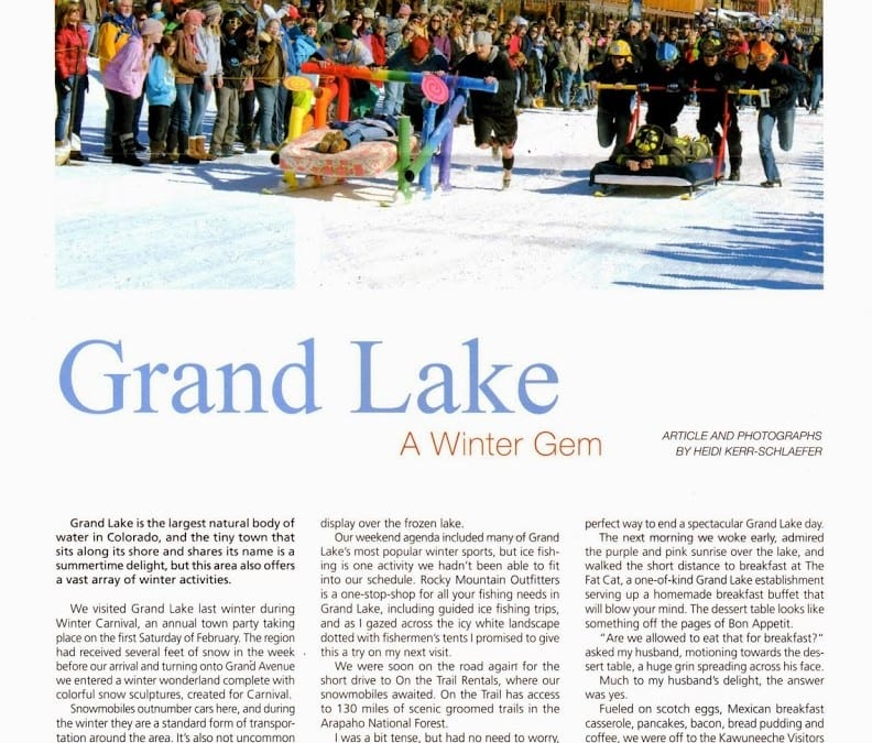 Grand Lake A Winter Gem