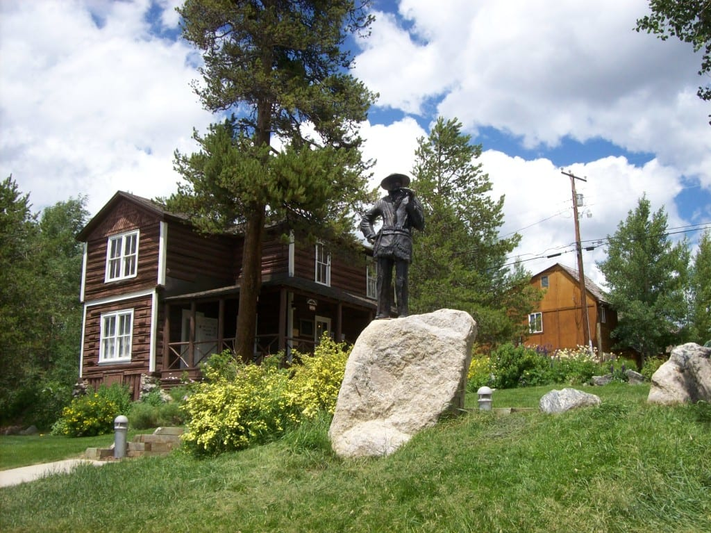 Kauffman House Museum and Alexander Phimister Proctor Statue
