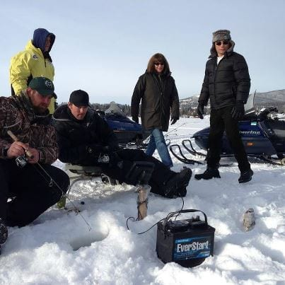 Ice Fishing with Anthony Melchiorri