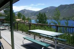 View from Large Lakeside Cabins