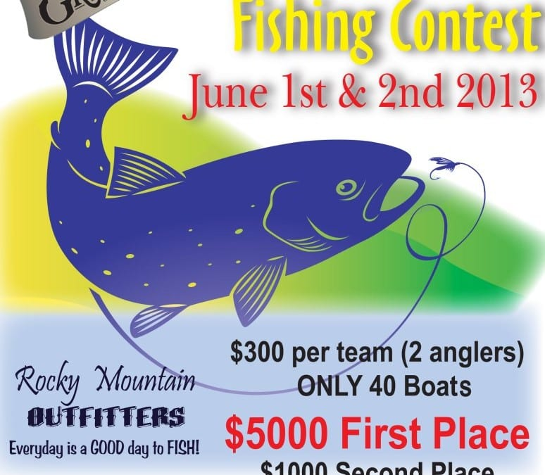 Open Water Fishing Contest this Weekend!