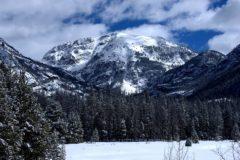 Winter in Grand Lake, Colorado