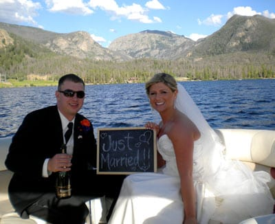 Lakeside Weddings near Rocky Mountain National Park