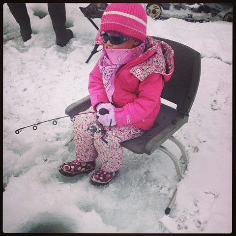 Catch & Release Ice Fishing Contest
