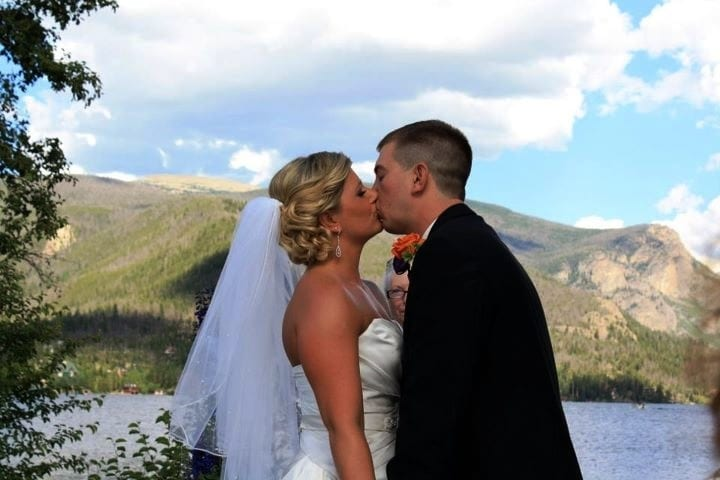 Colorado Lakeside Weddings