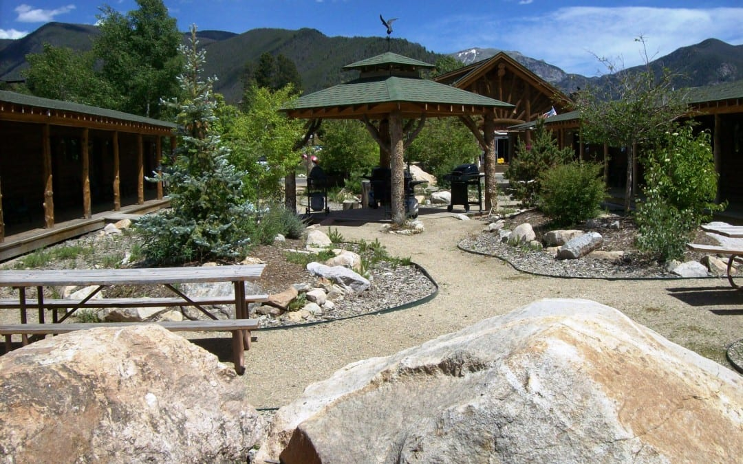 Courtyard Cabins in the Village of Grand Lake, Colorado