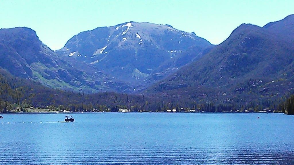 Grand Lake, Colorado's largest natural lake.