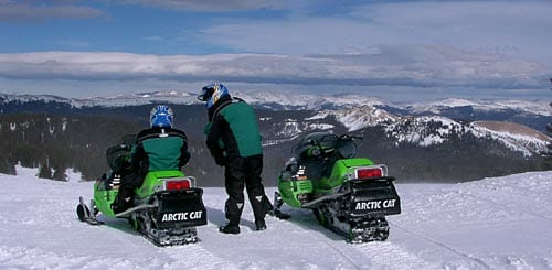 Grand Lake Colorado Snowmobiling
