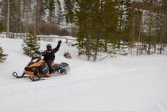 Snowmobile Grand Lake