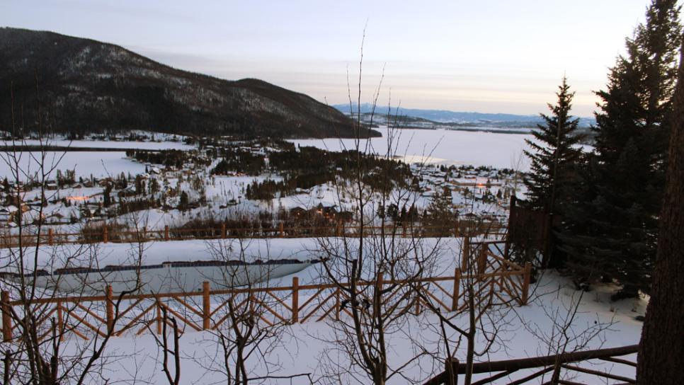 Winter in grand lake colorado snowmobiling ice fishing for Grand lake colorado fishing
