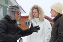Anthony speaks with 2 sisters outside of Western Riviera to get a feel for their knowledge of the hotel.
